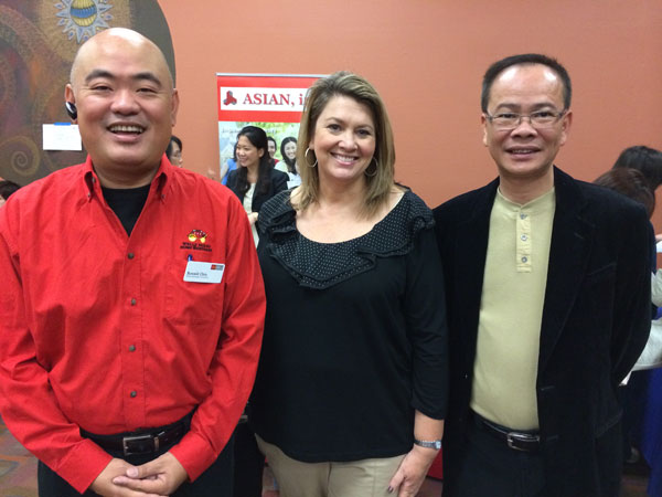Housing Program Director Nobby Cheng with Our Wells Fargo Partners