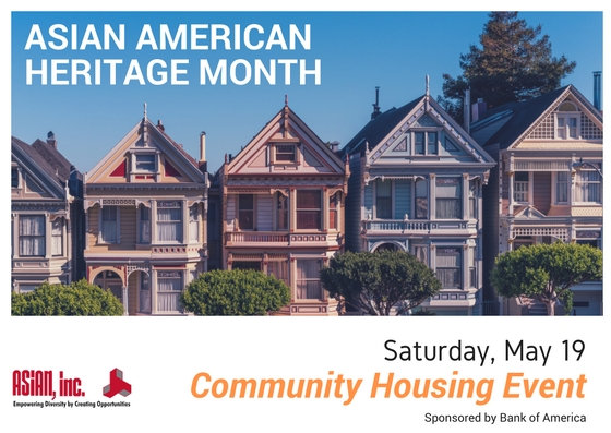 Asian American Heritage Month - Community Housing Event