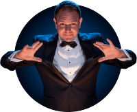 Gala 2019 Magician - Robert Strong